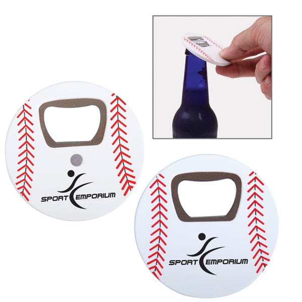 Baseball Sports Ball Shaped Bottle Opener Photo
