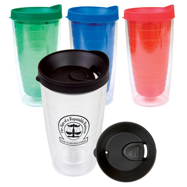 Saturn - Insulated Travel Tumbler Made Of Bpa-free, 16 Oz (473 Ml) Photo