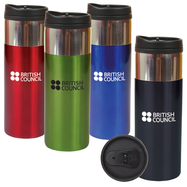 14oz (414 Ml) Bpa-free Double Wall Tumbler Photo
