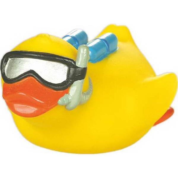 Rubber Underwater Treasure Hunter Duck