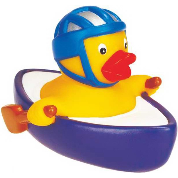Rubber Duck On The Boat