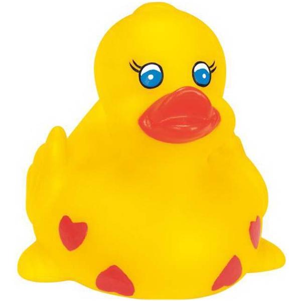 Rubber Sweet Heart Duck