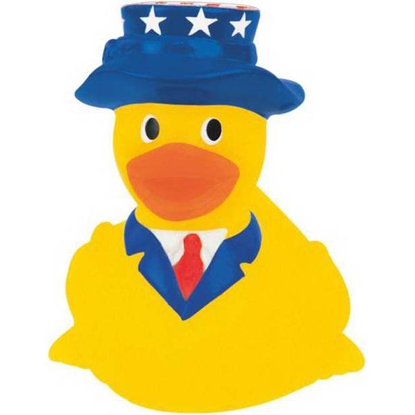 Mini Rubber Patriotic Duck