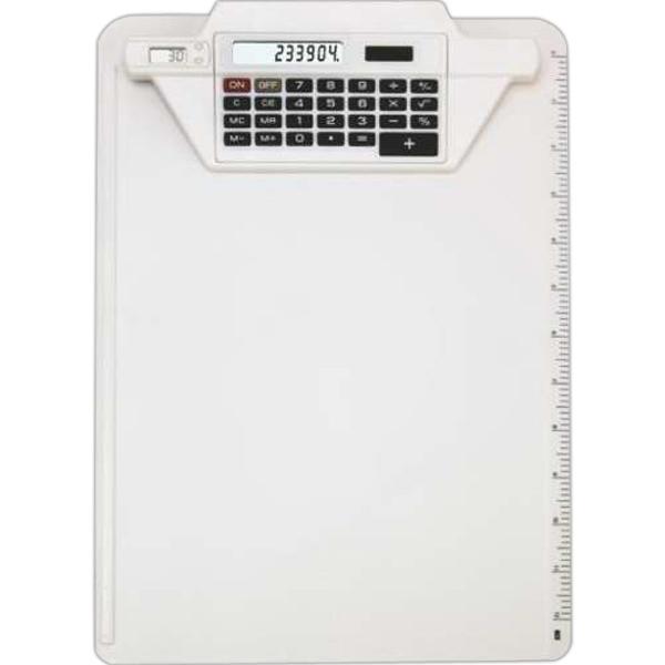 Clipboard Calculator w/Clock