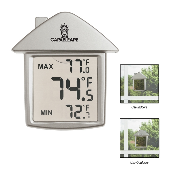 House Shape Thermometer Photo