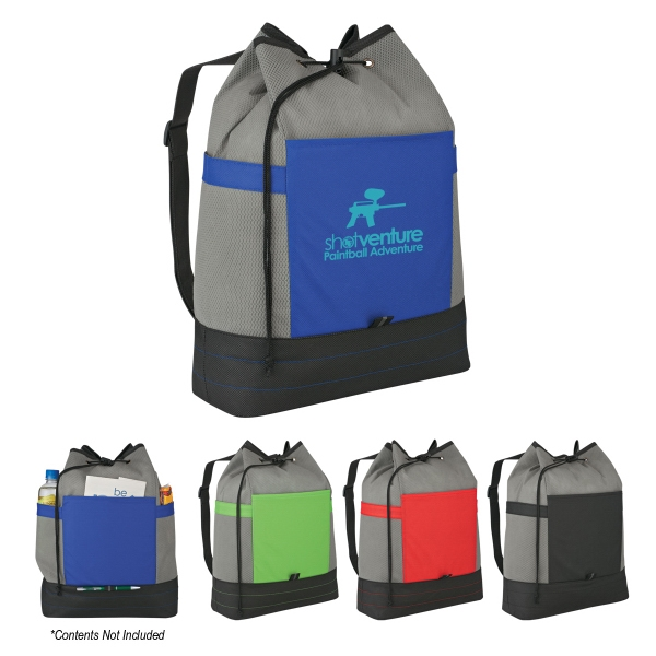 Sling-n-go - Sling Backpack With Main Compartment And Drawstring Closure Photo