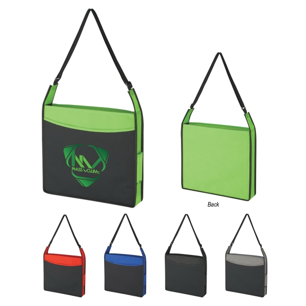 Republic - Embroidery - Tote Bag With Side Pen Compartments Photo