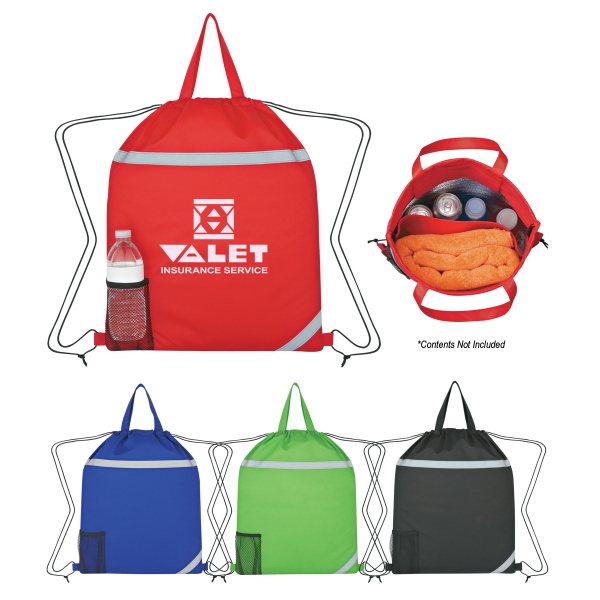 Reflecto - Insulated Drawstring Backpack Photo