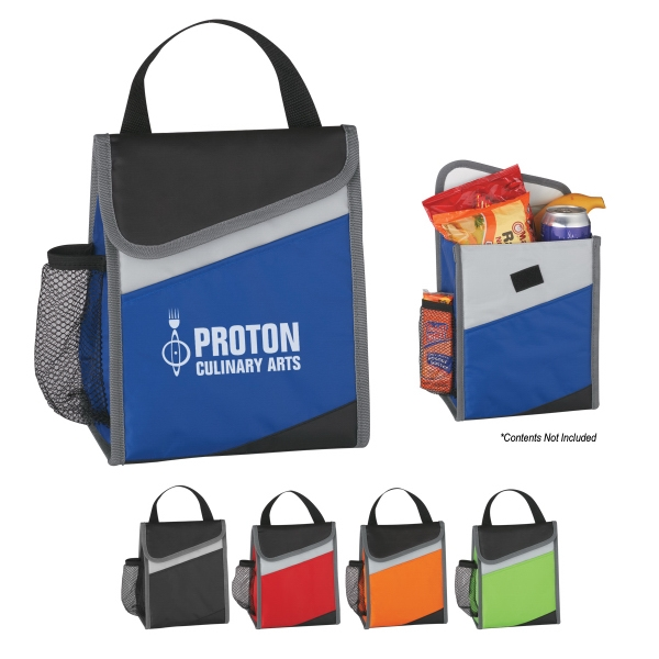 Amigo - Lunch Bag With Front Pocket And Side Mesh Pocket Photo