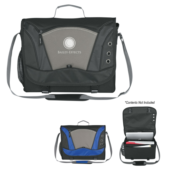 Transfer - Messenger Bag With Front Zippered Pocket And Adjustable Padded Shoulder Strap Photo
