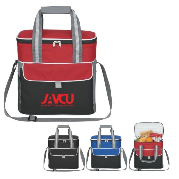 Pack-n-go - Embroidery - Cooler With Double Zippered Main Compartment Photo