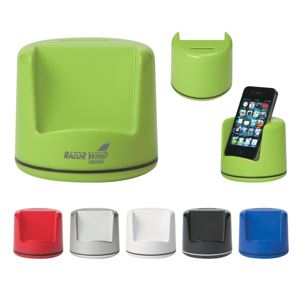 Colors With Black Trim - Phone Stand And Bank With Swivel Bottom Photo