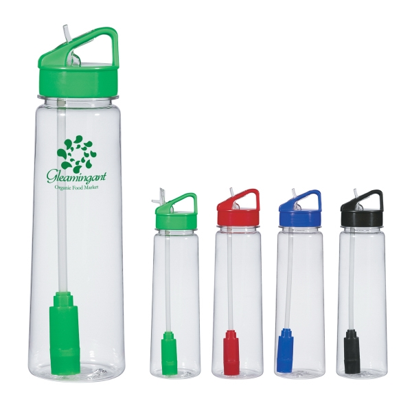 24 Oz. Economy Filter Bottle With Active Carbon Filter Photo