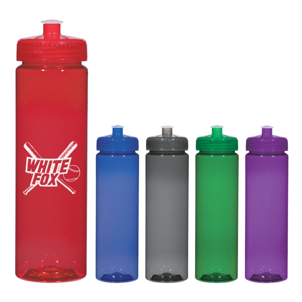 25 Oz. Bottle With Leak Resistant Push-pull Lid Photo