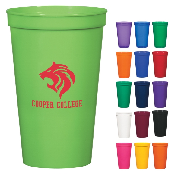 22 Oz. Stadium Cup Made With Recycled Materials Photo