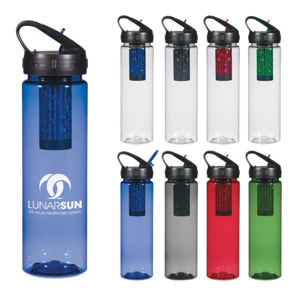 24 Oz. Freedom Filter Bottle Removes 99.9% Of Parasites And Bacteria Photo