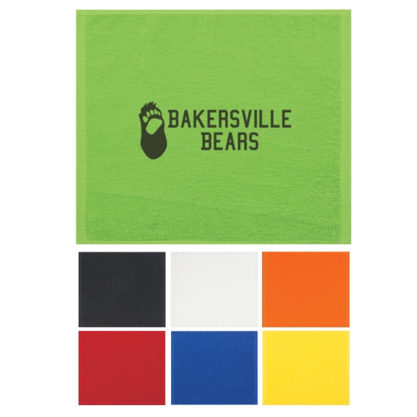 Show Your Team Spirit With Colorful Rally Towels! Photo