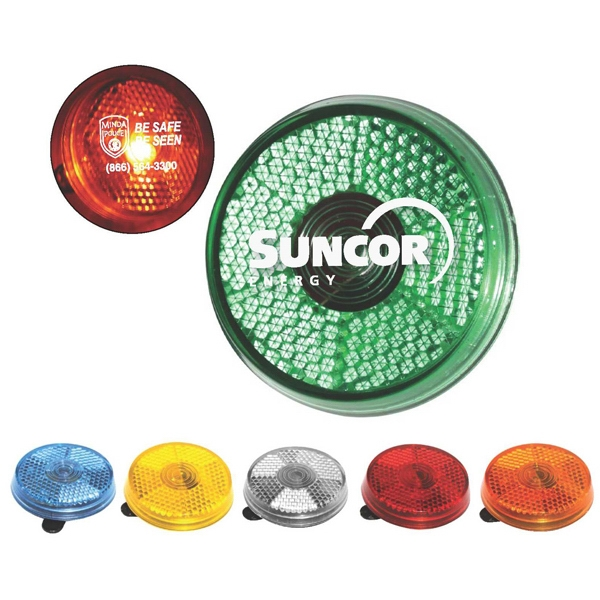 "Clip-it-on - Reflector Safety Light, 1 7/8"" X 5/8"" Photo"