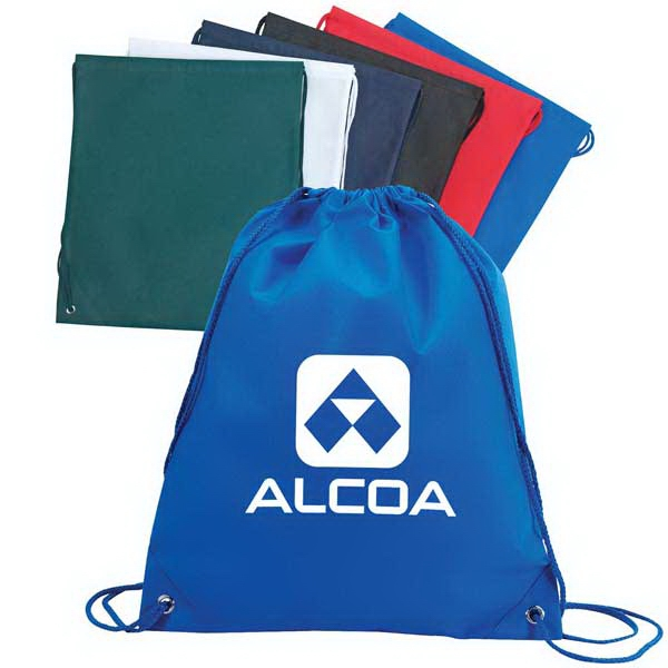 Large Drawstring Tote Bag. Made Of 100 Gm Non-woven Polypropylene Photo