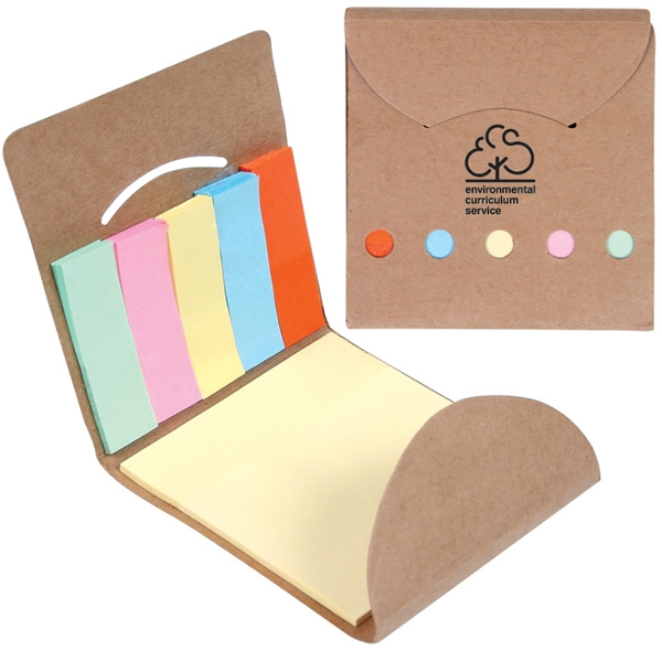 Pocket Memo Book Includes One Sticky Note Pad Photo
