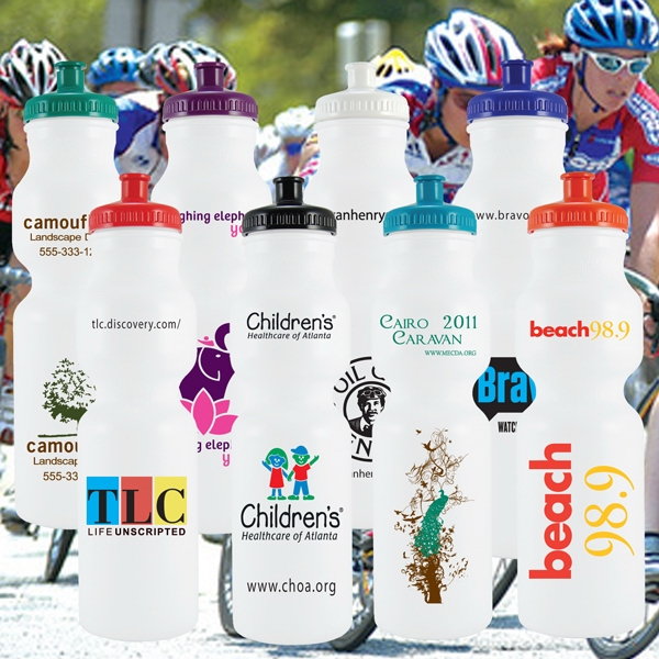 28 Oz. Sports Bike Bottle Photo