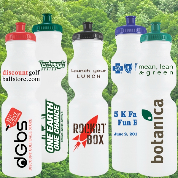 28 Ounce Eco-friendly Bike Water Bottle With Pop Top Lid Photo