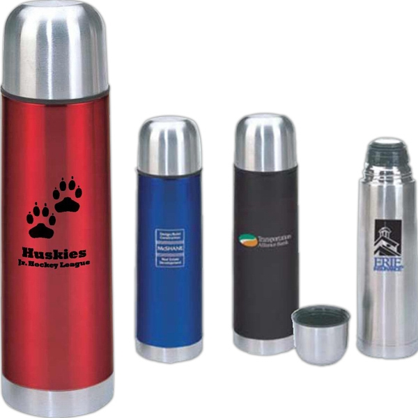Basics - Double Wall Stainless Steel 16.5 Oz. Thermos Photo