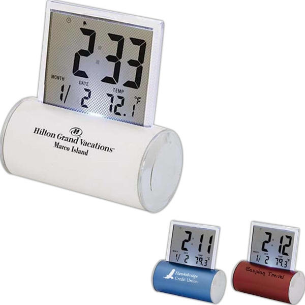Rocker - Alarm Clock Which Displays Time, Temperature And Date. Features A Musical Alarm Photo