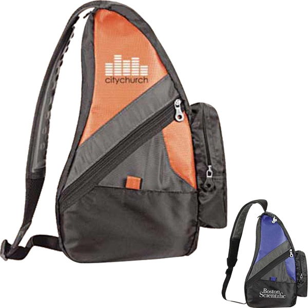 "Fin - Nylon Sling Pack With Vibrant Color And Stylish Look, Measuring 10""w X 16""h X 5""d Photo"