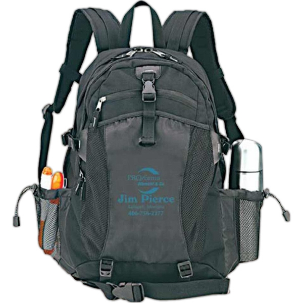 "Flexor - Polyester Computer Backpack, Holds Laptop Up To 15.4"" Display Photo"