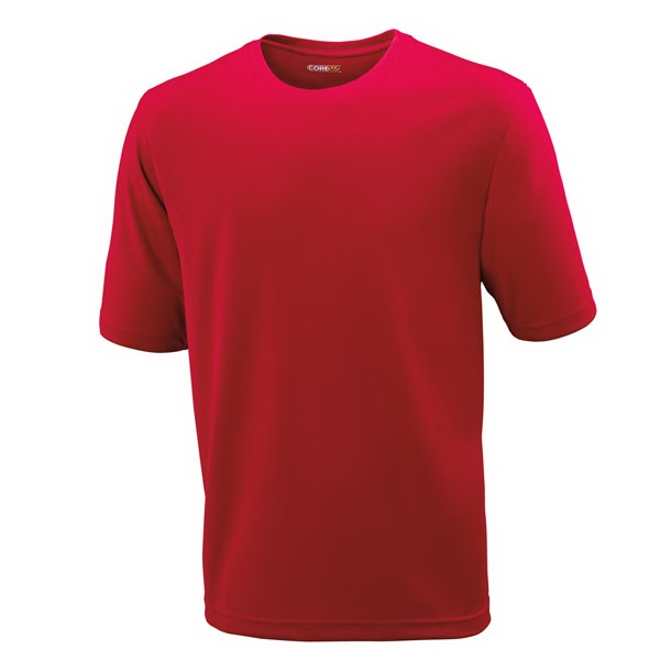 North End (r) Pace Core365 (tm) - S- X L - Men's Performance Pique Crew Neck Shirt Photo