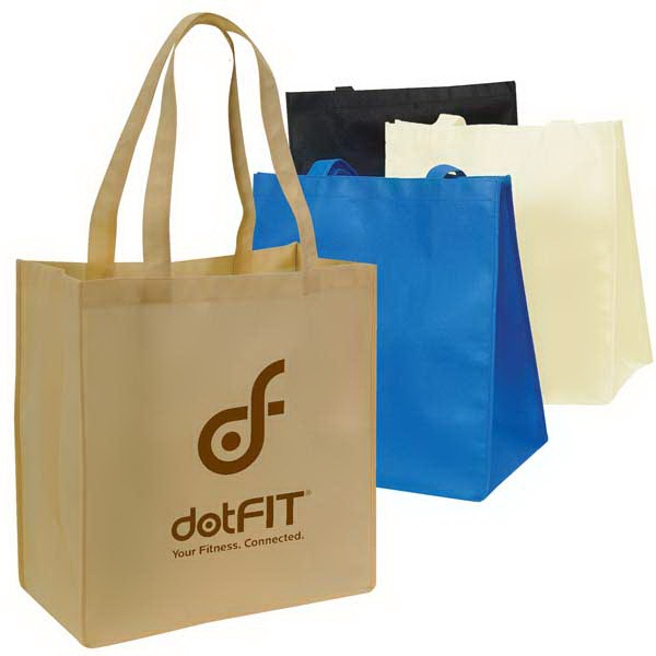 Large Non Woven Tote Bag With Handles And Gusset, Made Of 100 Gm Polypropylene Photo