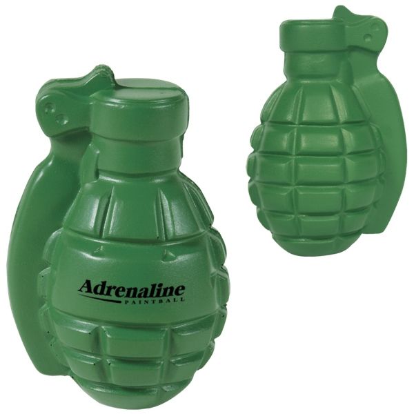 Handcrafted Polyurethane Stress Ball In The Shape Of A Grenade Photo