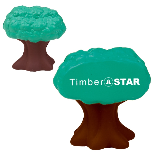 Tree Shaped Stress Reliever Photo