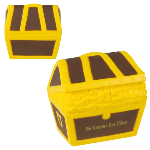 Treasure Chest Shaped Stress Reliever Photo