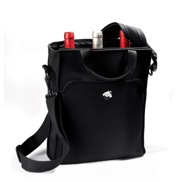 3 Bottle Neoprene Wine Tote Bag