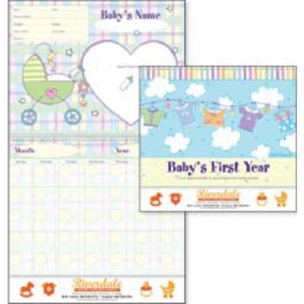 Baby's First Year - Non-dated Baby First Year Lifestyles Calendar By Robin Roderick Photo