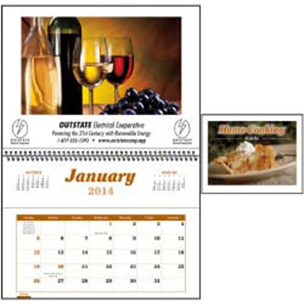2015 Home Cooking Guide Pocket Calendar Photo