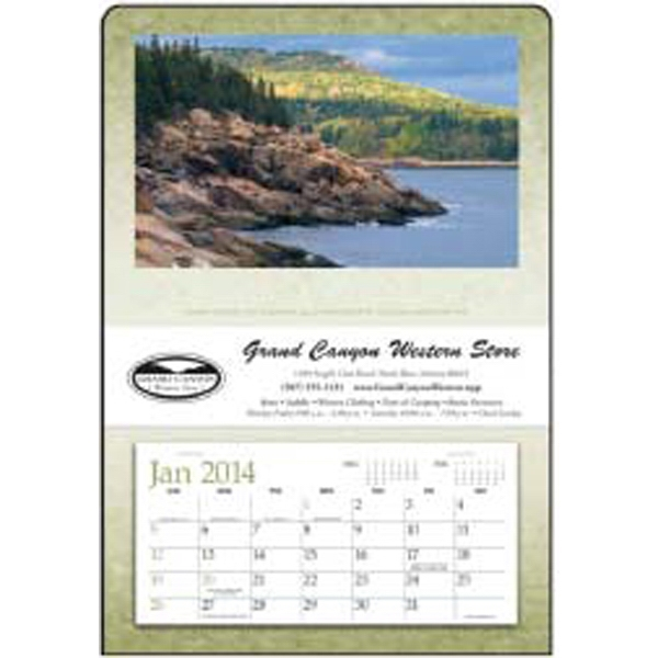 Single Pocket 2015 Calendar, Ideal For Bills And Memos Photo