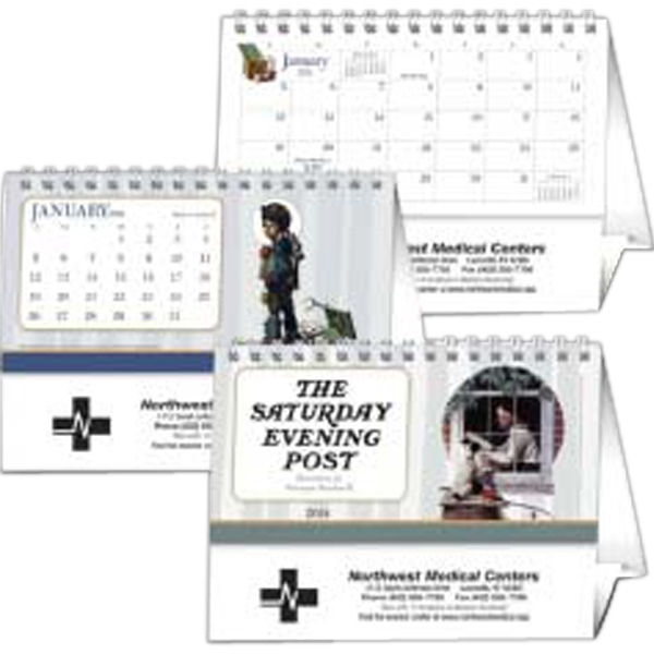 The Saturday Evening Post - 2015 Desk Calendar With A Handsome Display Of American Art Masterpieces Photo