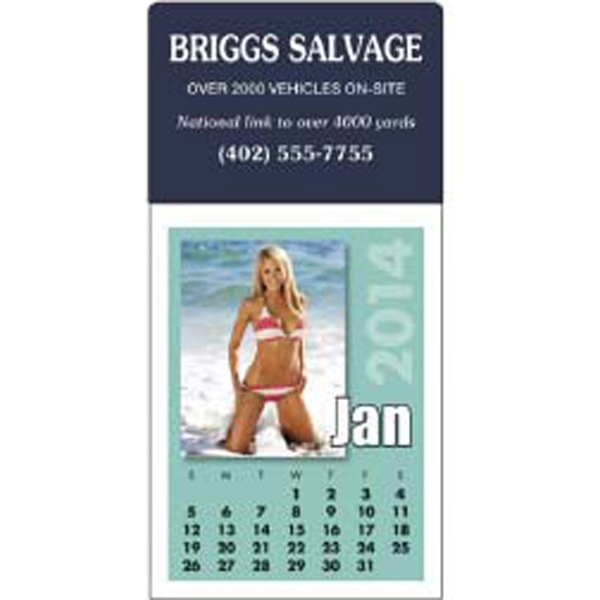 2015 Stick Up Calendar Featuring Photographs Of Women In Swimsuits Photo