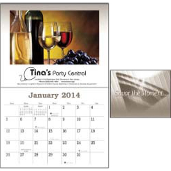 Liquor Recipe - 2015 Calendar Displays 12 Recipes Of Popular Cocktails Which Can Be Easily Prepared Photo