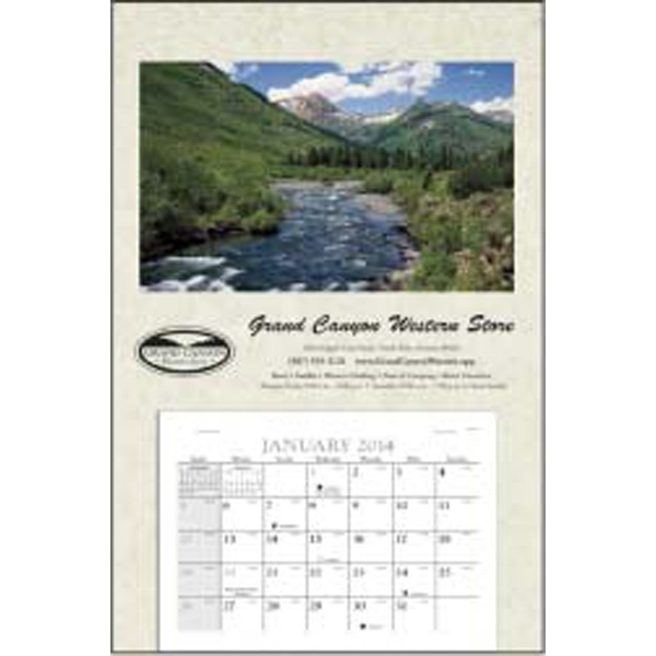 Baronet - This Super 2015 Calendar Features A Large Memo-style Date Pad Photo