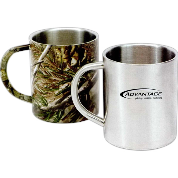 Summit - Camouflage - 10 Oz. Stainless Steel Mug Photo