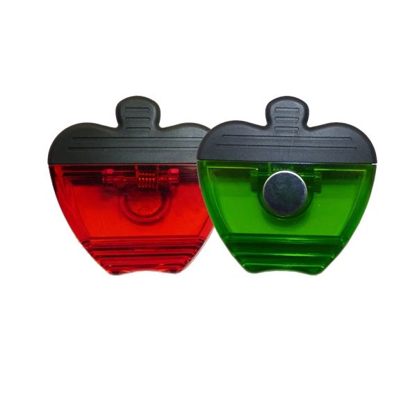 Apple Magnet Memo Clip