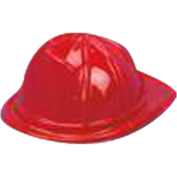 Plastic Fireman Hat For Stuffed Animal. Blank Photo
