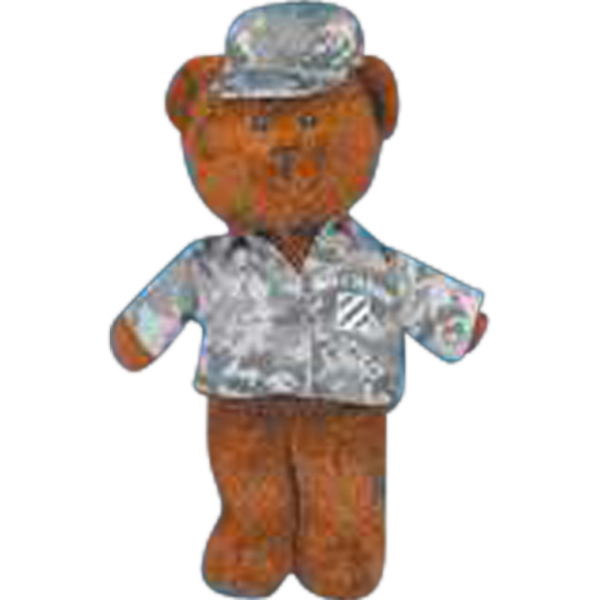 Two Piece Digital Camouflage Outfit For Stuffed Animal. Blank Photo