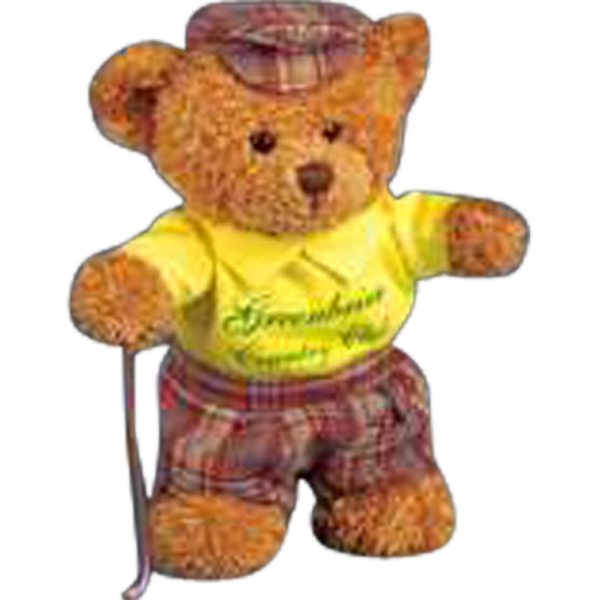 4 Piece Golfer Outfit For Stuffed Animal. Blank Photo
