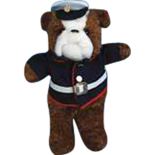 Marine 2 Piece Outfit For Stuffed Animal. Blank Photo