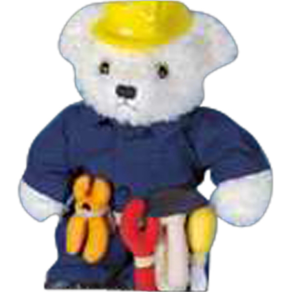 Coveralls For Stuffed Animal. Blank Photo